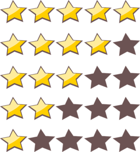 Rating Star PNG Photo PNG Clip art