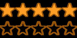 Rating Star PNG Transparent PNG Clip art