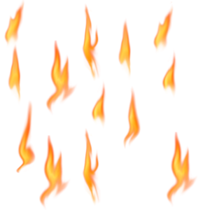 Real Fire PNG icons