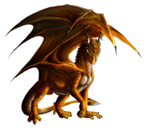 Realistic Dragon PNG Image PNG Clip art