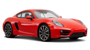 Red 2016 Nissan 370Z Porsche Caymen S PNG PNG images