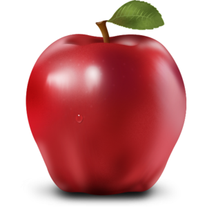 Red Apple PNG Transparent PNG Clip art