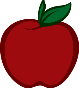 Red Apple Transparent PNG PNG Clip art