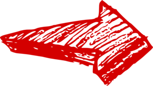 Red Arrow Transparent PNG PNG icon