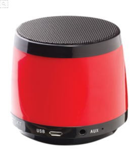 Red Bluetooth Speaker PNG File PNG Clip art