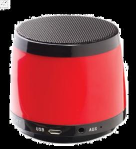 Red Bluetooth Speaker PNG File PNG Clip art