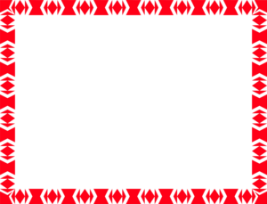 Red Border Frame PNG File PNG icon