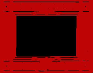 Red Border Frame PNG Transparent Picture PNG Clip art