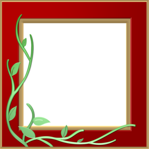Red Border Frame PNG Transparent PNG icon