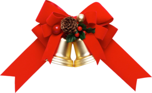 Red Christmas Ribbon Download PNG Image PNG Clip art