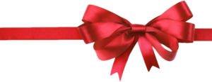 Red Christmas Ribbon PNG Background Image PNG Clip art