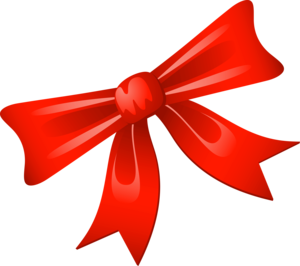 Red Christmas Ribbon PNG Photo PNG Clip art