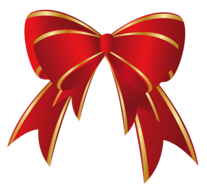 Red Christmas Ribbon PNG Picture PNG Clip art