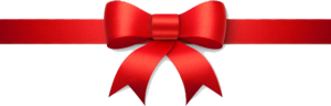 Red Christmas Ribbon PNG Transparent PNG Clip art
