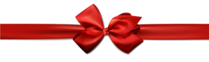 Red Christmas Ribbon Transparent Images PNG PNG Clip art