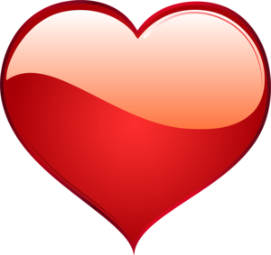Red Heart Transparent PNG PNG Clip art