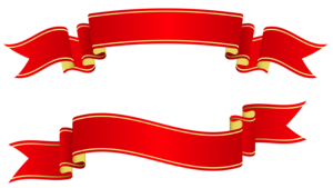 Red Ribbon Banner PNG Free Download PNG Clip art