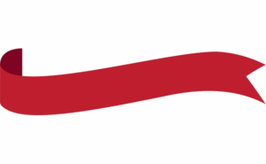Red Ribbon Banner Transparent PNG PNG Clip art