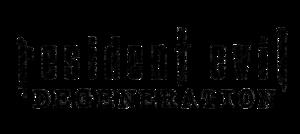 Resident Evil Logo PNG File PNG Clip art