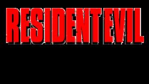 Resident Evil Logo Transparent Background PNG Clip art