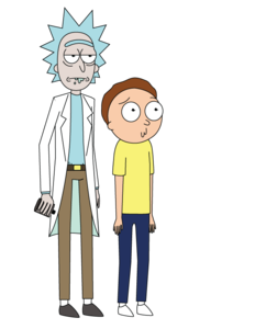 Rick And Morty PNG Transparent Image PNG Clip art