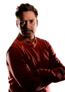 Robert Downey Jr Transparent Background PNG Clip art