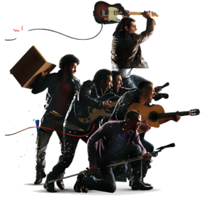 Rock Band PNG File PNG Clip art