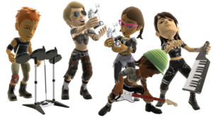 Rock Band PNG Pic PNG Clip art