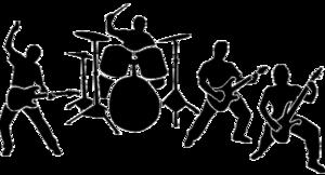 Rock Band PNG Transparent Image PNG Clip art