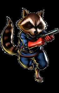 Rocket Raccoon PNG Free Download PNG Clip art