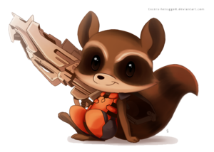 Rocket Raccoon PNG HD PNG Clip art