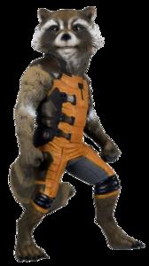 Rocket Raccoon PNG Image PNG Clip art