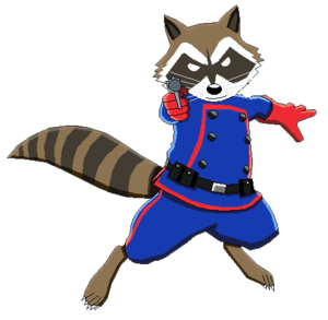 Rocket Raccoon PNG Transparent Image Clip art