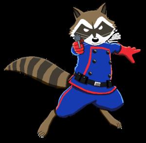 Rocket Raccoon PNG Transparent Image PNG Clip art