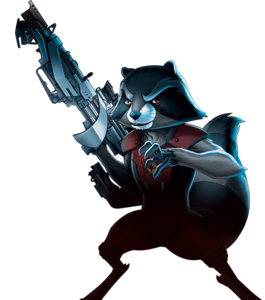 Rocket Raccoon PNG Transparent PNG Clip art