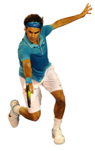 Roger Federer PNG Transparent Background PNG Clip art