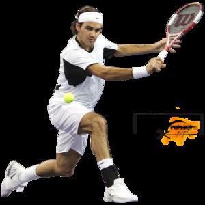 Roger Federer Transparent Background PNG Clip art