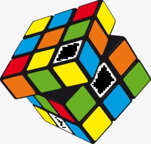 Rubik�s Cube Transparent Background PNG Clip art