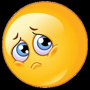 Sad Emoji Transparent Background PNG Clip art