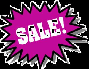 Sale PNG Transparent Picture PNG Clip art