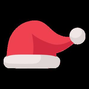 Santa Claus Hat Transparent Background PNG Clip art