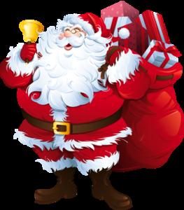Santa Claus Transparent Background PNG Clip art