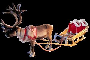 Santa Sleigh PNG Clipart PNG Clip art