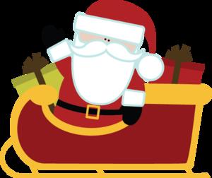 Santa Sleigh PNG HD PNG Clip art