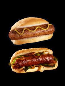 Sausage Sandwich PNG Transparent Image PNG Clip art
