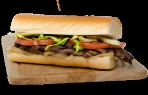 Sausage Sandwich PNG clipart