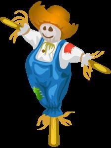 Scarecrow Transparent Background PNG Clip art