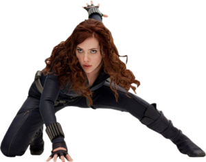 Scarlett Johansson Transparent Background PNG icon