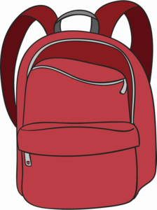 School Bag PNG Transparent Image PNG clipart
