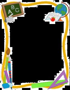 School Border PNG Clipart PNG Clip art